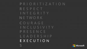 Principle E - Execution