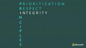 Principle I - Integrity