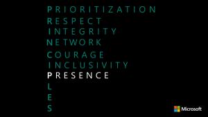 Principle P - Presence